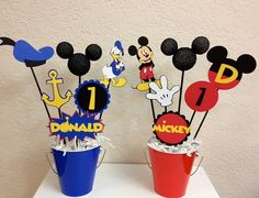 Mickey Mouse and Donald Duck Clubhouse Birthday by TheGirlNXTdoor