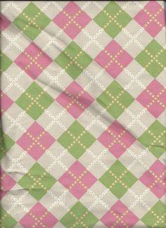 100 Cotton Corduroy Argyle Fabric