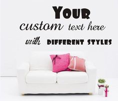 Family Quotes Wall Decals We Do Family Vinyl Art Wall Stickers - Custom vinyl lettering wall decals art sayings
