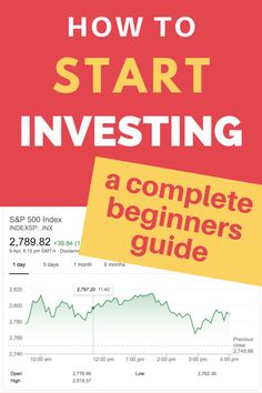 How to start investing, a complete beginners guide. Learn how to work out which investments are right for your budget and financial plan. Find out how to invest in shares, bonds and property even if you only have a little bit of money to begin with. Investing In Shares, Investing In Stocks, Investing Money, Stock Investing, Saving Money, Financial Budget, Financial Literacy, Financial Planning, Stocks For Beginners