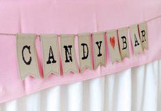 Eine #Candybar kommt bei #Klein und #Groß immer gut an