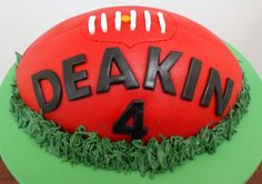 Great cake Harry Birthday, Cat Birthday, Birthday Parties, Birthday Ideas, Birthday Cakes, Football Cake Design, Football Cakes, Giant Cake, Football Birthday