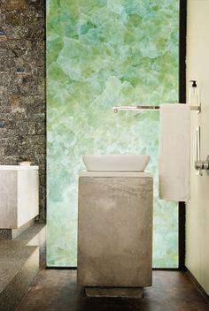 Green Onyx, Deco Design, Backsplash, Reflection, Tiles, Wall Decor, Stone, Mary, Interiors