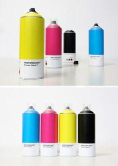Pantone Spray Paint