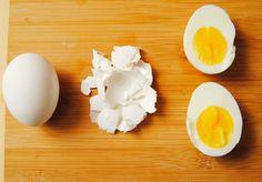 Slik skreller du egg på 1-2-3
