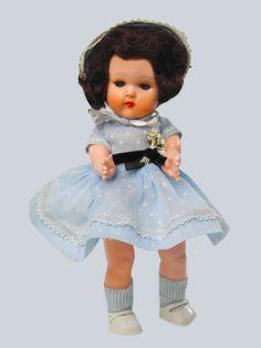 "Vintage Hard Plastic 8"" Miss Rosebud Doll England 1950s Ginny Vogue Type | eBay"