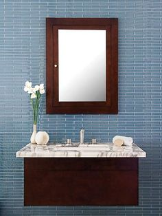 Photo: Courtesy of AKDO | thisoldhouse.com | from 5 Ways Mosaic Tile Makes a Small Bath Look Big
