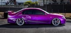 BA XR6 Turbo - candy pink to purple fade