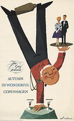 Poster is Autumn in Wonderful (Copenhagen, København, Danmark, Danish, Denmark, travel, Europe, city, capital, visit, beautiful)