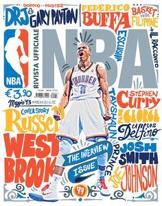Rivista NBA / Covers 2012 13 on Behance