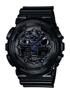 Men's Wrist Watches - GA100CF1ADR Casio Wristwatch >>> Check out this great product.