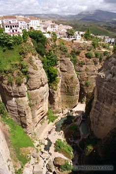 Ronda City in Andalusia Spain