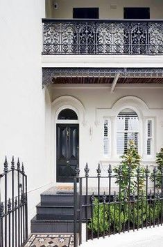 victorian terrace yellow door lace - Google Search