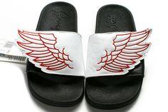 best sneakers 9b04a 5724d Adidas Jeremy Scott x JS Wings Adilette Sandals White Red