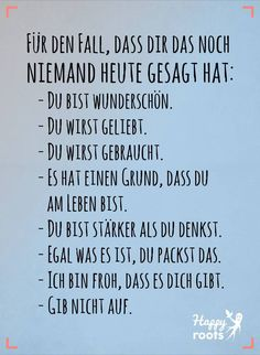 Best pictures videos and sayings and new funny faces come every day, German Quotes, Joelle, Thing 1, True Words, Funny Faces, Are You Happy, Decir No, Positive Quotes, Affirmations