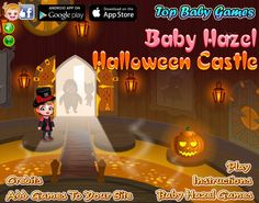 Baby Hazel is excited for her school trip to Halloween castle. Be with Hazel to explore the castle and look for great surprises. http://www.babyhazelgames.com/games/baby-hazel-halloween-castle.html