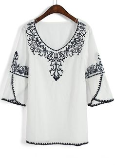cotton embroidered