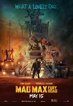 MAD MAX FURY ROAD new poster