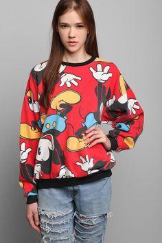 Vintage Mickey Sweatshirt #vintage #urbanoutfitters