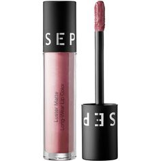SEPHORA COLLECTION Luster Matte Long-Wear Lip Color (58 BRL) ❤ liked on Polyvore featuring beauty products, makeup, lip makeup, beauty, lip gloss, sephora collection and long wear makeup