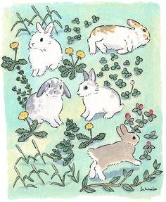 Rabbit Drawing, Rabbit Art, Bunny Rabbit, Bunny Art, Cute Bunny, Animal Drawings, Cute Drawings, Lapin Art, Arte Sketchbook