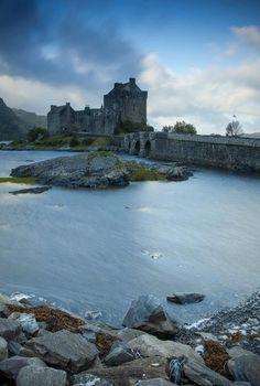 Eilean Donan Castle - Scotland; At the confluence of Loch Duich, Loch Long and Loch Alsh .
