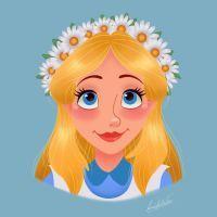 Alice Flower Crown by princessbeautycase