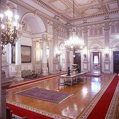 Interior, Abdeen Palace Museum, Cairo, Egypt