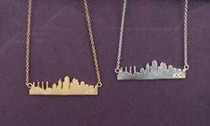 Kansas City Skyline Necklace