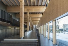 The Proudhon Secondary School in Besançon / Tectoniques + Architectures Adelfo Scaranello