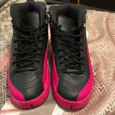 d4b6d18715a1a6 33 Awesome Pink and black Jordans images