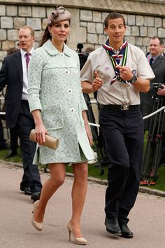 Catherine Duchess of Cambridge in Mulberry