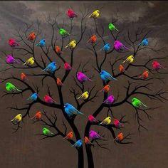 Post  #: Vida colorida é mais bonita!