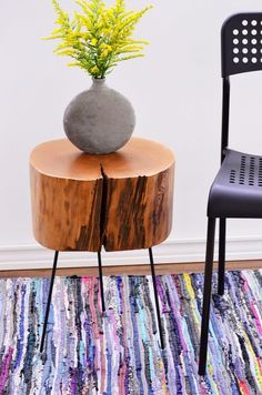 Have beautiful and unique side tables for less!
