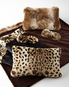 Faux-Fur+3-Piece+Travel+Sets+by+NM+EXCLUSIVE+at+Neiman+Marcus.