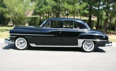 1950 Chrysler Windsor Four-Door Sedan
