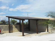 sloping carport design - want this but with blue colourbond roofing and double deep for two cars
