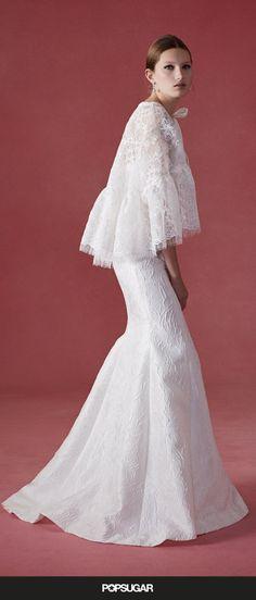Lace Never Felt More Modern Than in Oscar de la Renta's New Bridal Gowns