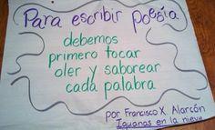 I Teach Dual Language: Para escribir poesía...