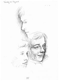 211. Drawing of Oliver Twist character, Bill Sykes played ...
