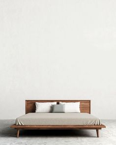 Grayson's modern facade is attributed to the striking combination of glossy white and grainy wood, round curvatures and sharp industrial lines.Pair with any bedroom set!