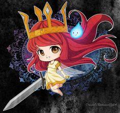 chibi aurora | Child Of Light: Chibi Aurora by PrinceOfRedroses