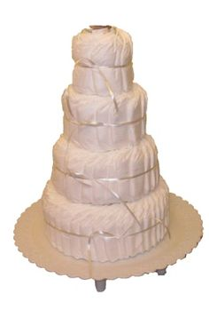 How To Make Diaper Cakes -  Boutique Diaper Cake Instructions