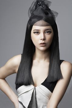 park shi yeon for curlic Park Si Yeon, Korean Actresses, Black Hair, Eye Candy, Hair Makeup, Face, Beauty, Candies, Style