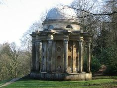Stourhead - The Temple of Apollo where Darcy proposes for the first time. On my to do list, love Jane Austin.
