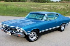 1968 Chevrolet Chevelle Drivers Side View