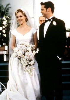 & Movie Wedding Dresses Jennie Garth Kelly (Garth) and Brandon (Jason Priestley) got cold feet in a 1998 wedding special of Beverly Hills Garth Kelly (Garth) and Brandon (Jason Priestley) got cold feet in a 1998 wedding special of Beverly Hills Movie Wedding Dresses, Celebrity Wedding Dresses, Wedding Movies, Celebrity Weddings, Celebrity Style, Modest Wedding, Beverly Hills 90210, Brandon Walsh, Jason Priestley