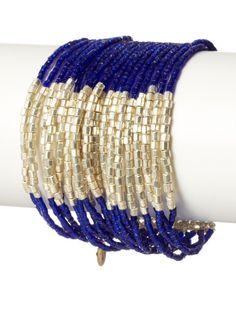 Josefina De Alba Silver/Blue Cannes Bracelet, http://www.myhabit.com/redirect/ref=qd_sw_dp_pi_li_t1?url=http%3A%2F%2Fwww.myhabit.com%2F%3F%23page%3Dd%26dept%3Dwomen%26sale%3DA2ZXXE6SOO7BMB%26asin%3DB00CPKB24Q%26cAsin%3DB00CPKB24Q