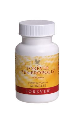 Forever Living - Forever Bee Propolis is the protective substance gathered and used by bees to keep their hives clean. The interior of a bee's hive is safer than most operating rooms. It's an excellent way to help support the body's natural defences. Helps maintain a healthy respiratory system.