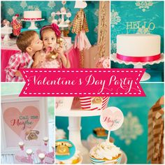 Valentines Day Party Decorations - Call Me Maybe Collection - By A Blissful Nest  #ONpinparty #ONkidtacular #oldnavy #callmemaybe #valentines